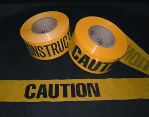 Construction Grade Barricade Tape